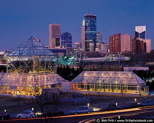 Art and Entertainment;buildings;destination;IDS ;lights;Minneapolis;Minnesota;MN;Mpls;night;Sculpture Garden;skyline;tourism;twilight;Twin Cities;Walker Art Center
