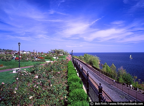 biggest fresh water lake;boats;destination;Duluth Lake Walk;Great Lakes;Kitchi Gammi;Lake Superior;largest freshwater lake;Minnesota;MN;North Shore;sailboats;sailing;summer;tourism;flowers;gardens;Leif Erickson Rose Garden