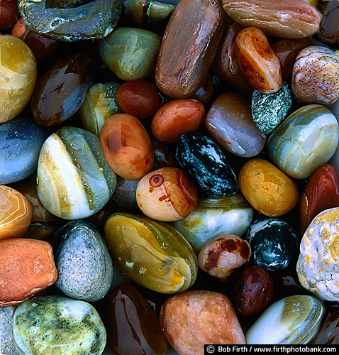 agates;close up;colorful;dertail;Lake Superior shoreline;Minnesota;MN;North Shore;rocks;gemstone