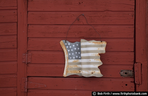 Wisconsin;WI;stars and stripes;red barn;country;barn door;Americana;American flag;patriotic